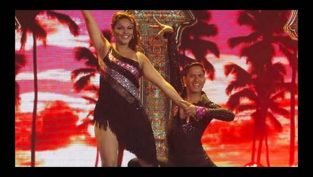 Vernis Hernández se lució en el Gran Show