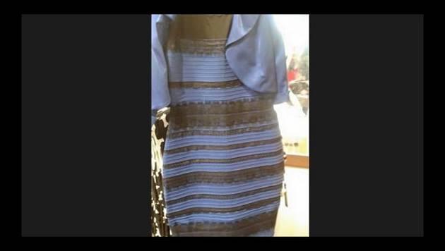 Dross bate records con su explicación del color del vestido
