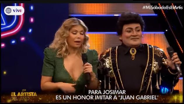 Vocalista de Josimar y su Yambú sorprende con impactante imitación de Juan Gabriel