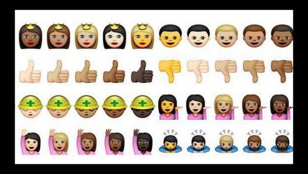 Whatsapp agrega emoticones interraciales para Android