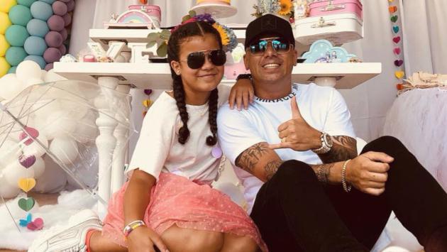 Wisin celebró a lo grande el cumpleaños de su hija Yelena