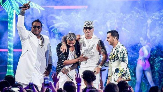 ¡Wisin presentó el remix de 'Vacaciones' en los Premios Lo Nuestro, aunque sin Don Omar! Aquí el motivo