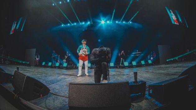 Wisin y Yandel se reencontraron en concierto benéfico [FOTOS]