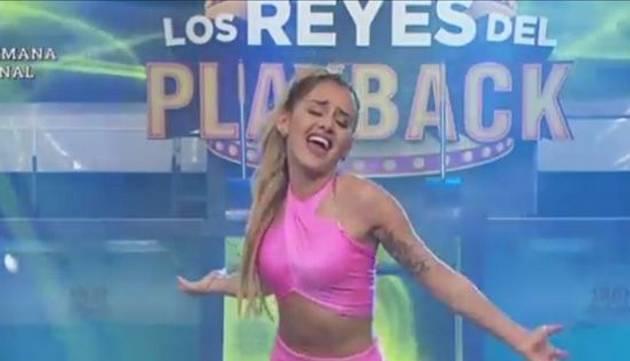 ¡Ximena Hoyos imitó a Yahaira Plasencia moviendo el Totó!