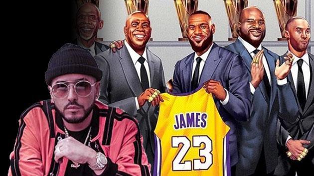 Yandel, dispuesto a mudarse con LeBron James a Los Ángeles