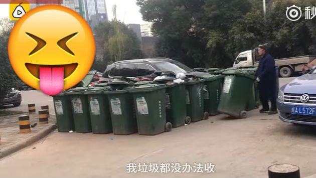 Conductor fue troleado de forma épica por estacionar mal su auto [VIDEO]