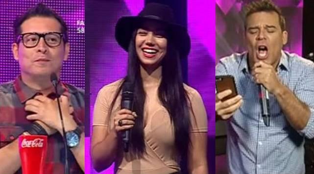 ¡Esta despampanante venezolana alborotó el set de 'Yo Soy'!