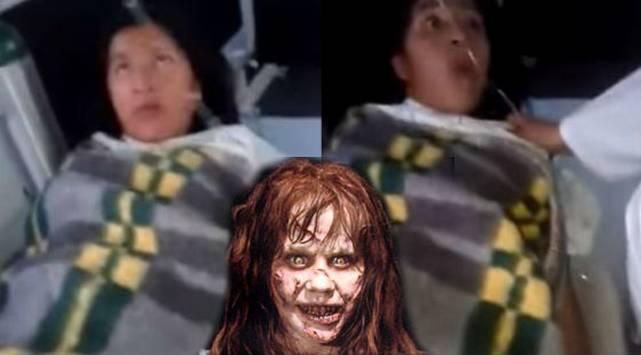 No podrás dormir con el video de esta joven poseída... ¡Mira lo que dice!