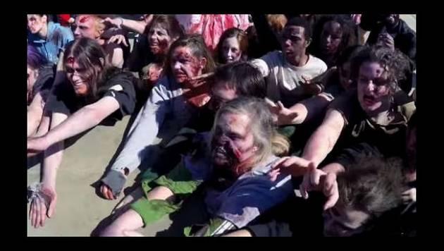 Broma de zombies invadiendo la ciudad arrasa en YouTube