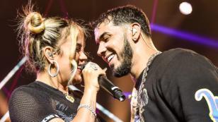 Anuel AA muestra tatuaje con el nombre de Karol G y confirma nueva canción juntos