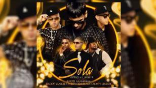 ¡Daddy Yankee, Zion y Lennox, Farruko y Wisin  se juntaron para el remix de 'Sola', tema de Anuel!