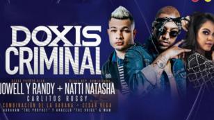 Anuncian nueva fecha para el concierto Doxis Criminal