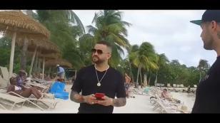 Así disfrutó Nacho de su estadía en Aruba [VIDEO]