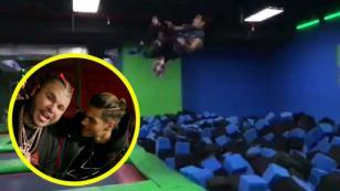 Así es como Abraham Mateo celebra los 5 millones de 'Loco enamorado' junto a Farruko [VIDEO]