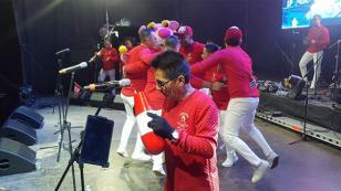 Así fue el concierto de Zaperoko en Chile por Fiestas Patrias