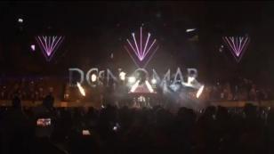 Así se vivió el regreso de Don Omar a Colombia [VIDEO]