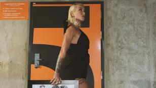 Así terminó Leslie Shaw las promociones de su sencillo 'Bombón'
