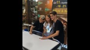Así va la gira promocional de Adexe & Nau en España [VIDEOS]