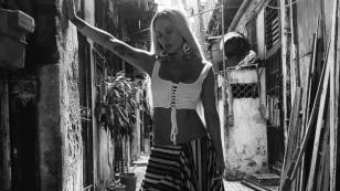 Así van las grabaciones del nuevo video de Leslie Shaw en Cuba
