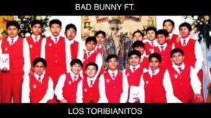 ¿Bad Bunny cantando con Los Toribianitos en Navidad? [VIDEO]