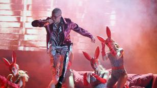 Bad Bunny cantó en el Halftime Show del Monday Night Football
