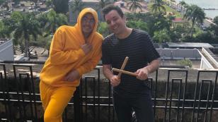 Bad Bunny grabó con Jimmy Fallon episodio especial en Puerto Rico