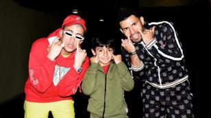 Bad Bunny puso a bailar al Kun Agüero en Argentina