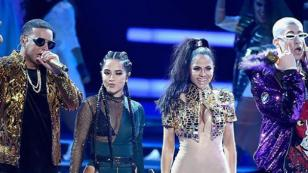 Daddy Yankee estrenó el remix de 'Dura' junto a Natti Natasha, Becky G y Bad Bunny