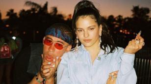 Bad Bunny niega romance con Rosalía