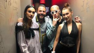 Bad Bunny salió de fiesta junto a Bella Hadid