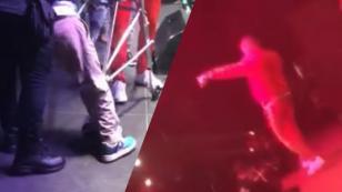 ¡Bad Bunny sube al escenario a un fan discapacitado! [VIDEO]