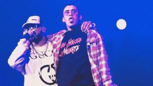 Bad Bunny y Anuel AA cantaron juntos por primera vez en concierto