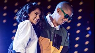 Bad Bunny y Becky G listos para su presentación en los Latin American Music Awards 2017 [FOTOS]