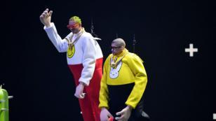Bad Bunny y J Balvin se lucieron con una destacada presentación en los VMAs 2019
