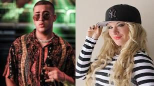 Bad Bunny y Leslie Shaw comparten video en sus redes sociales del Sunset Color Festival