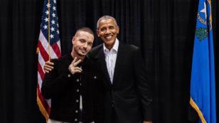 Barack Obama eligió a J Balvin como uno de sus cantantes favoritos del 2018