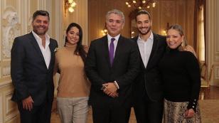 Presidente de Colombia se reunió con Maluma para hablar acerca de proyectos para la juventud