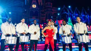 Becky G empezó con los ensayos para su show en Disney