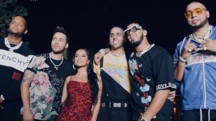 Becky G, Prince Royce y Anuel AA estrenan nuevo su nuevo trap: 'Bubalu'