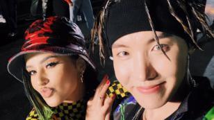 Becky G y J-Hope estrenan su primera colaboración: 'Chicken noddle soup'