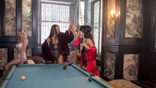 Becky G y Natti Natasha festejaron los 500 millones de visitas de 'Sin pijama' [FOTOS]