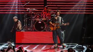 Camilo cantó frente a más de 50 mil personas en México