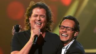 ¡Carlos Vives y la ex de Marc Anthony, cantando juntos! [VIDEO]