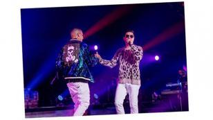Chencho, de Plan B, cantó en el Coliseo de Puerto Rico junto a Ñengo Flow