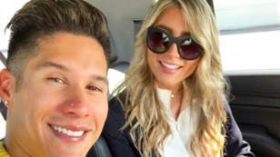 Chyno Miranda compartió tierna foto del embarazo de su esposa