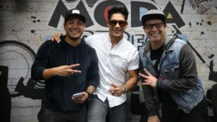 Revive la visita de Chyno Miranda a El Show de Carloncho [FOTOS Y VIDEO]