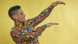 Chyno Miranda le da las primeras lecciones de baile a su hijo Lucca