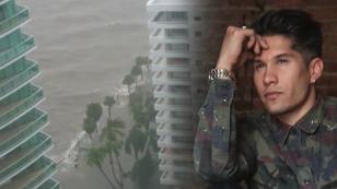 Chyno Miranda publicó estremecedor video del huracán Irma