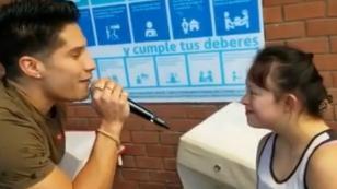 Chyno Miranda realizó homenaje por el Día Mundial del Síndrome de Down