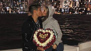 La romántica sorpresa que Chyno Miranda le hizo a su esposa por aniversario